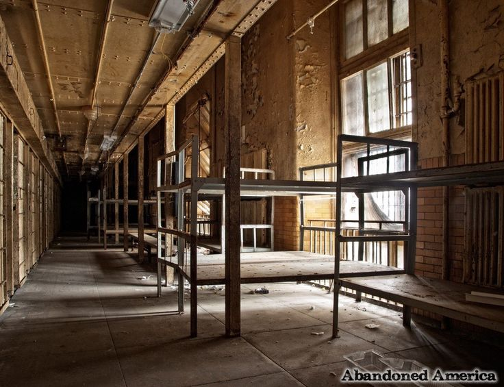The Abandoned Essex County Jail Annex in Caldwell