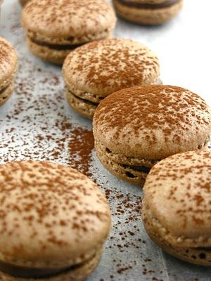 Oaxacan Cinnamon Chocolate Macaroons Recipe — Dishmaps