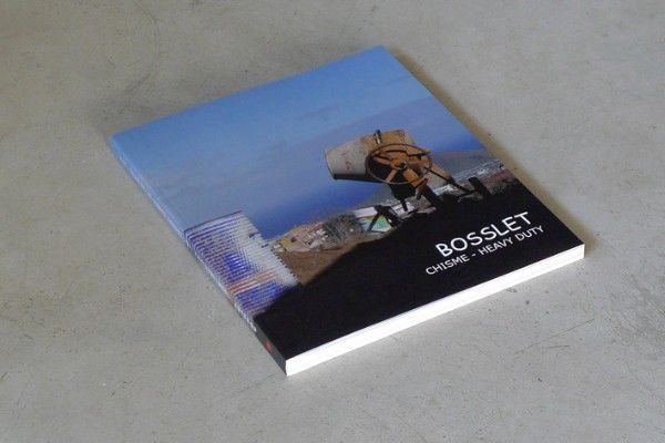 "EBERHARD BOSSLET,   Catalog of the exhibition ""Chisme - Heavy Duty "" at  TEA,  Tenerife Espacio de las Artes , Santa Cruz de Tenerife,  Spain"