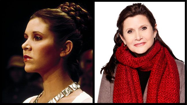 'Star Wars' Actors: Then and Now