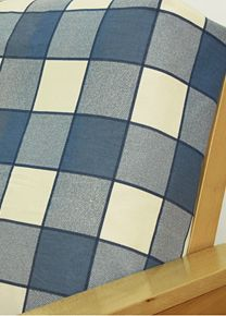big easy blue fabric offers a delightful plaid pattern in color scheme of white and blue blue futon covers   furniture shop  rh   ekonomikmobilyacarsisi