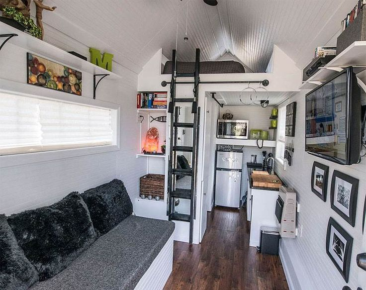 322 Best Small Space Interiors Images On Pinterest | Tiny House