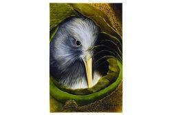 Kiwi Nest - Medium Art Block