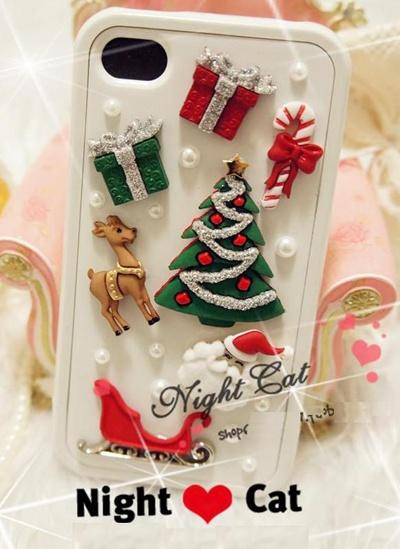 Per sentire il fascino del Natale sempre vicino, non poteva mancare la #cover #iphone a tema #InnovationXmas