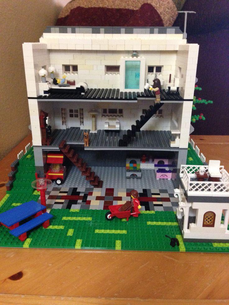 White Lego House