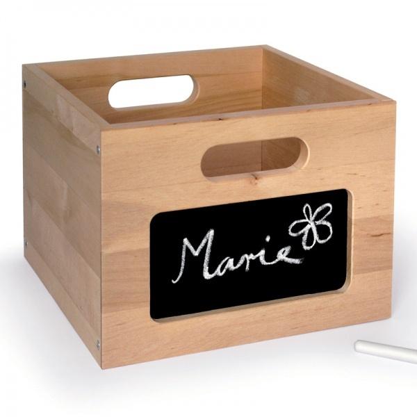 Wooden box with Tafelfolie