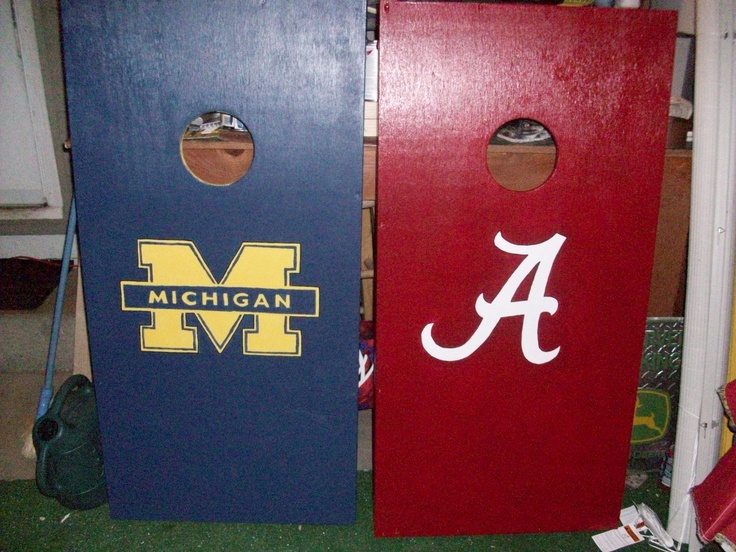 Like the nice wooden Cornhole boards for tailgating.