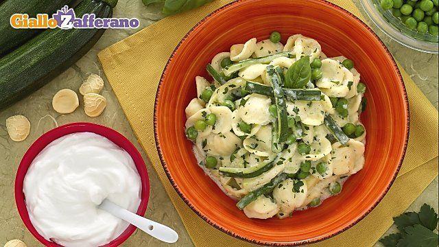Orecchiette zucchine e yogurt