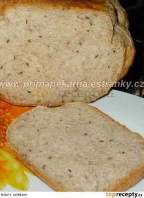 Babiččin voňavý kmínový chléb