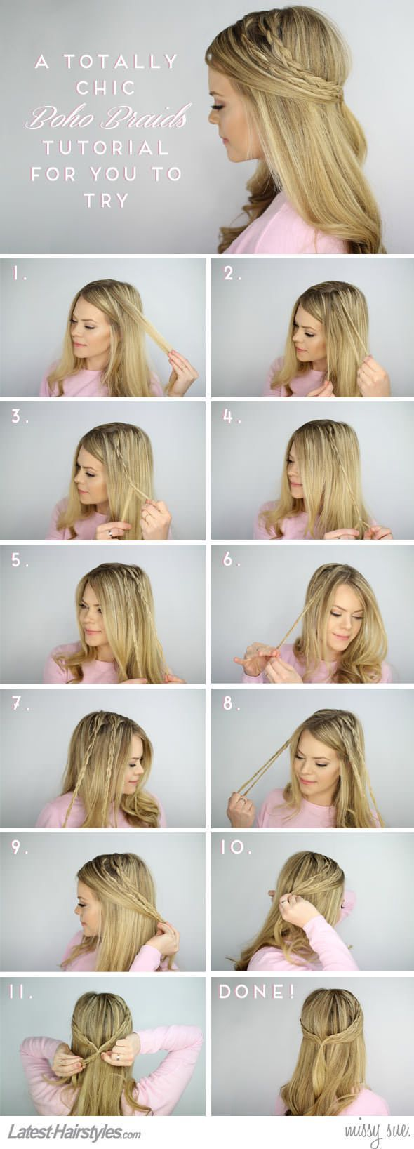 110 best Summer Hair Styles images on Pinterest | Hair dos, Chignons ...