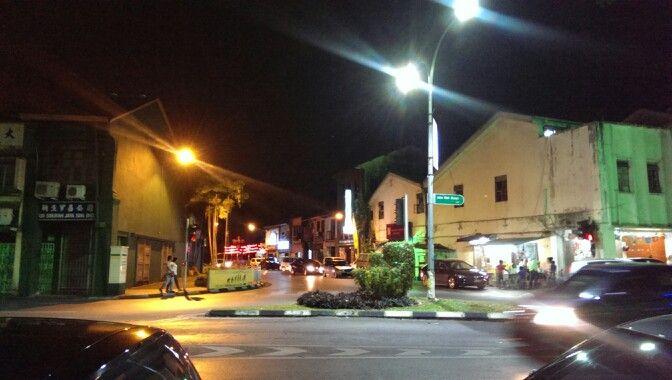 Kuching at night