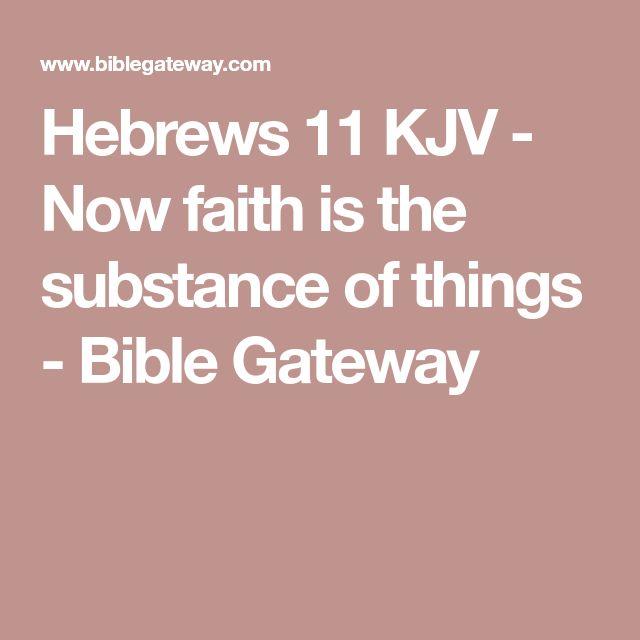 Hebrews 11 Bible Gateway