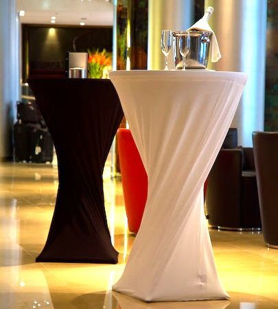 chair covers material wheelchair transport pleated cocktail table - google search | projects to try pinterest ...