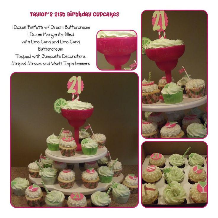 1000+ Ideas About 21st Birthday Cupcakes On Pinterest