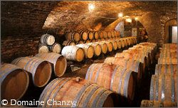 The cellars of Domaine Chanzy