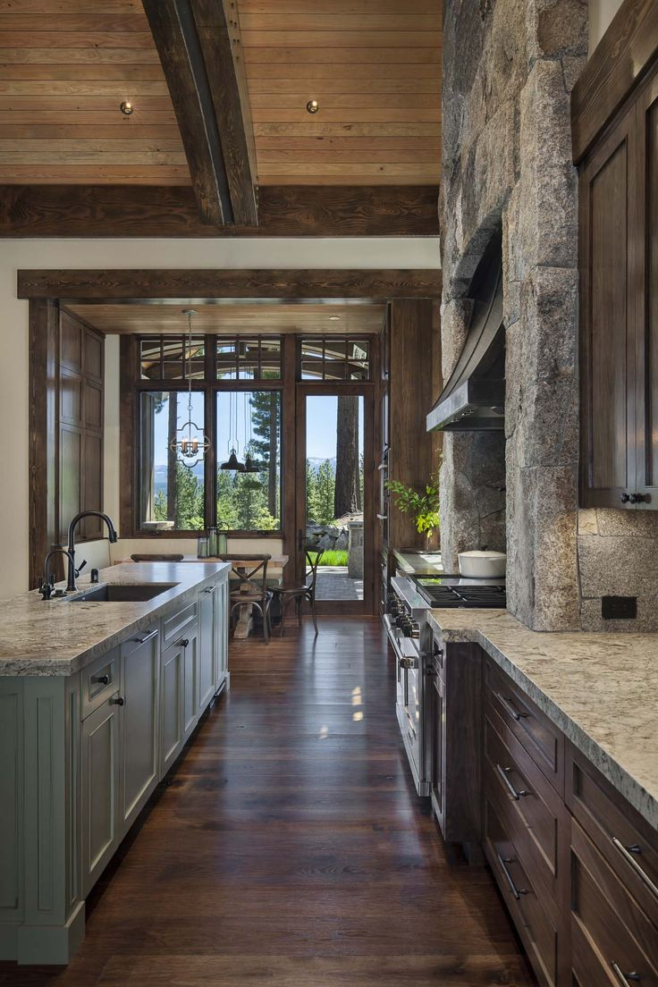Rustic Mountain Retreat-Kelly Stone Architects-09-1 Kindesign