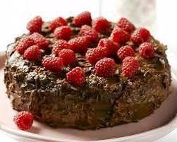 Пасхальный шоколадный торт по Дюкану