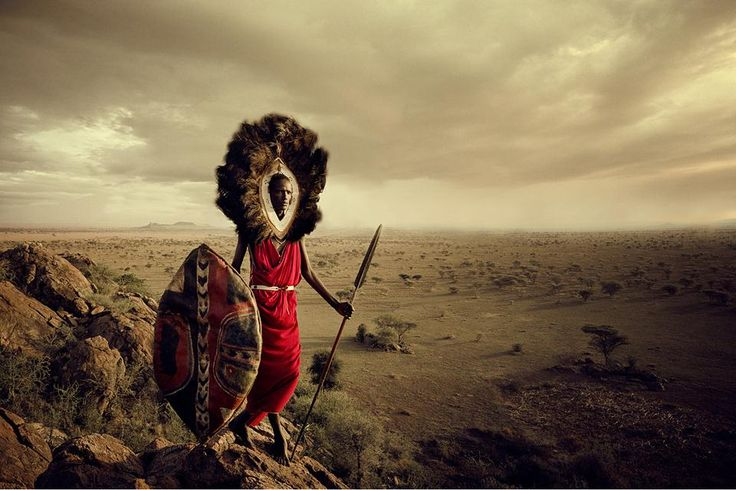 """Antes de que desaparezcan"", una muestra fotográfica que rescata la diversidad de tribus  Ser un Maasai, de Tanzania, significa nacer en la última gran comunidad de cultura guerrera del mundo.. Foto: Jimmy Nelson Pictures BV"