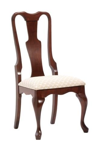 Amish Queen Anne Dining Room Chair  Amish Dining Chair Collection  When you want your dining room to reflect an elegant, traditional style decor, the Amish Queen Anne Dining Room Chair is exactly what is needed.