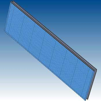 Architectural environmental noise barrier panel - dB Noise Reduction