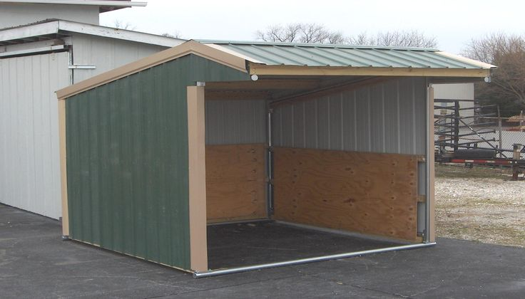 Diy Shelter Kits : Portable horse shelter kits pictures to pin on pinterest
