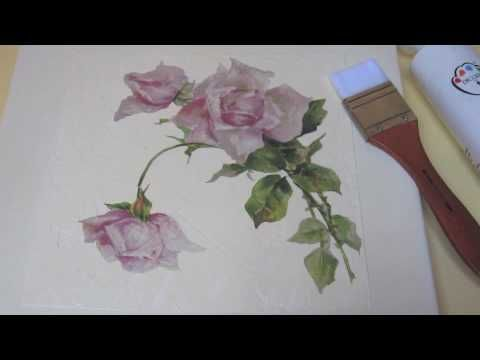 Video Corso : Romantic Chic . Progetto di Letizia Barbieri - YouTube