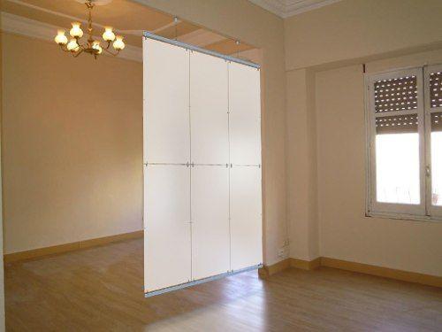 Separador divisor de ambientes biombo transl cido artensor for Studio room divider