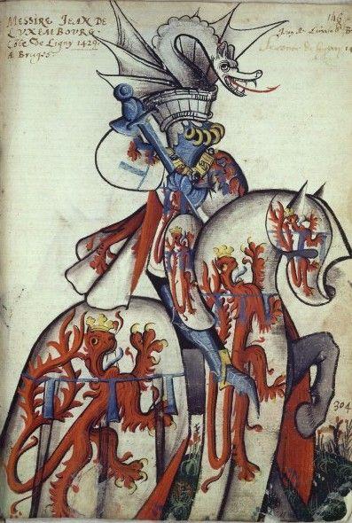 Jean Lefevre de Saint-Remy, Grand Armorial equestre de la Toison d'or, 1431-1435?