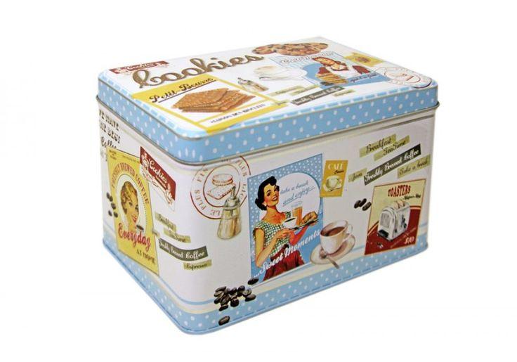 Коробка для печенья Винтаж | Контейнеры для хранения, Разобрать