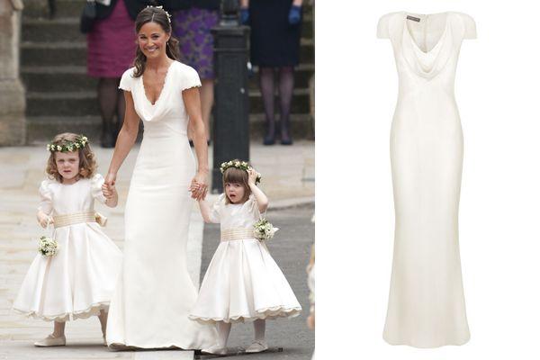 9 best all dressed in white ish images on pinterest for Pippa middleton wedding dress buy