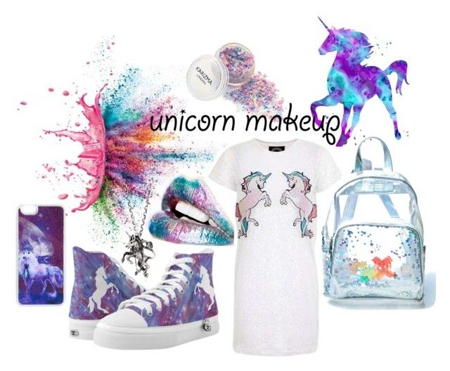 """""""Born to be unicorn 🦄🦄🦄"""" by catalina-joy on Polyvore featuring Givenchy, Topshop, momocreatura and Current Mood"""