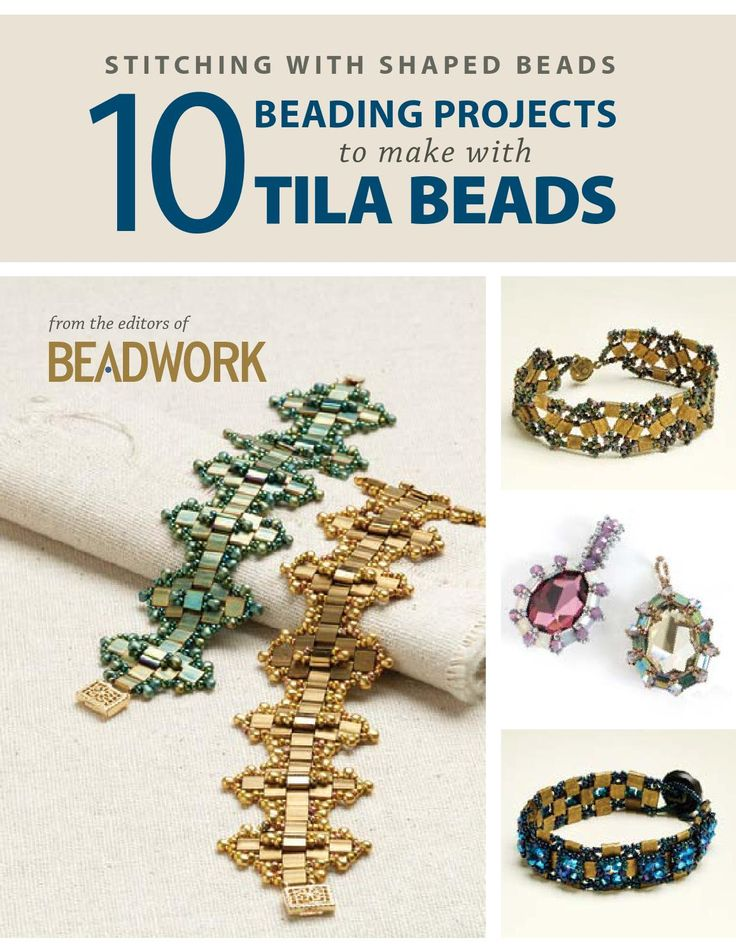 10 beading projects to make withtila beads by Valerie Gramage