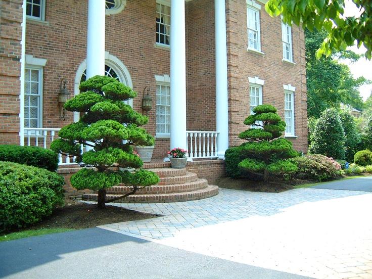 53 best images about japanese garden designs on pinterest for Entrance landscape design