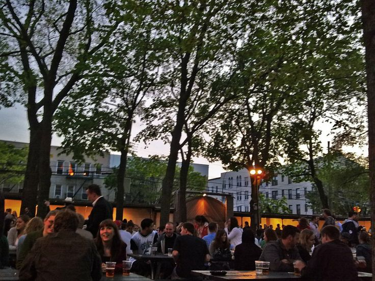 Guzzle authentic Czech beers at the Astoria Beer Garden. Officially known as the Bohemian Hall & Beer Garden, New Yorkers flock here on warm summer nights to drink tall glasses of ale in the spacious garden under the stars.
