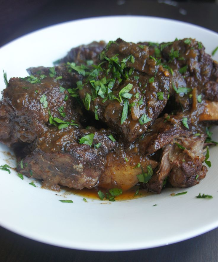 Using a slow cooker is a great way to save some time for holiday prep. This short ribs recipe is so rich and delicious, no one will know you weren't s ...
