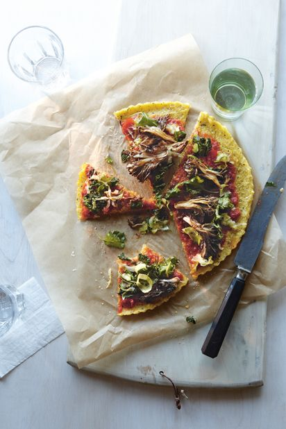 Polenta Pizzas.This sounds great! I made a different recipe today and ...