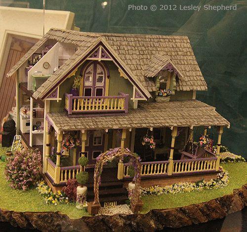 564 best Doll Houses images on Pinterest Dollhouse ideas - plan d une maison en 3d