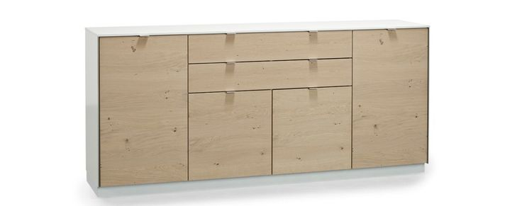 The sideboard has a classic design with a modern expression. | Skovby Møbler