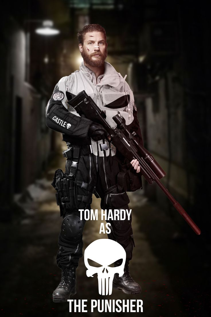 Pin by Joseph Gonzales on Punisher in 2020 | Punisher, Tom hardy ...