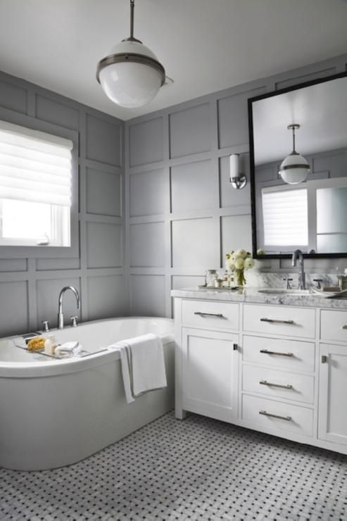 Cool Gray Bathrooms 470 best elegant bathrooms images on pinterest | bathroom ideas