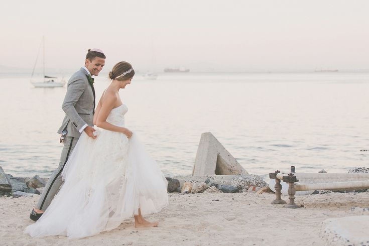 Candice Pool and Casey Neistat Photo: Zara-Zoo Vogue.com's Best Wedding Photos from 2014 – Vogue