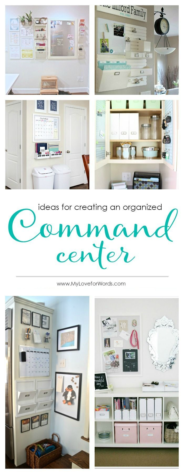 884 best Family Command Center images on Pinterest | Command centers ...