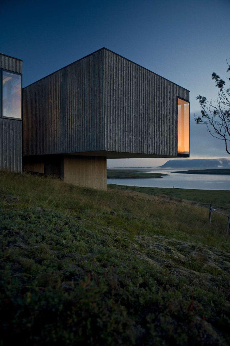 Árborg by PK Arkitektar, Selfoss, Iceland. Black Box Buildings Loom Large Among A+ Finalists - Architizer.