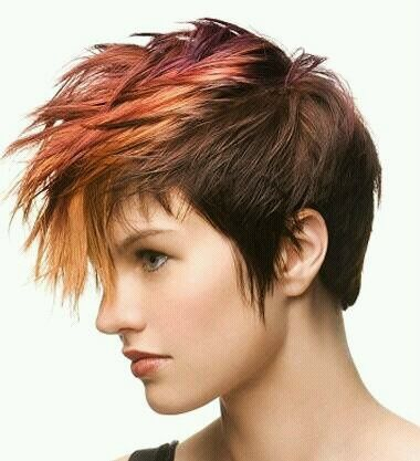 androgynous hairstyles round face – Google Search…