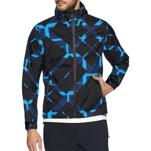 Diagonal Blue & Black Plaid Modern Style All Over Print Windbreaker for Men. #windbreaker #jacket #blue #blackjacket #plaid #pattern #modernwindbreaker #coolwindbreaker #plaidjacket  #clothing #apparel #artsadd #style #fashion #onlineshopping #popular #39 #rockstyle #design #family #gifts #shopping #onlineshopping #popular #art #giftsforhim #gifts #39 #cool #awesome #giftideas #badass #modernstyle