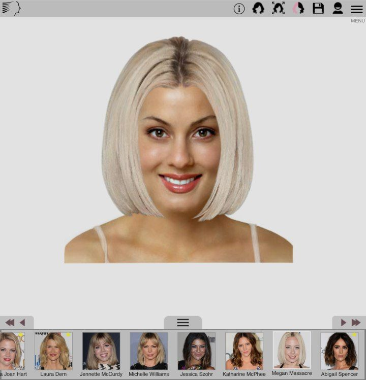 Free Smartphone App To Try On Hairstyles And Hair Colors In 2020 Try On Hairstyles Virtual Hairstyles Hair Styles