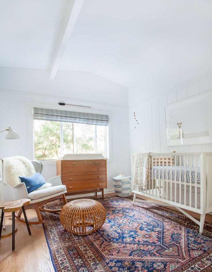Oriental Rug Cleaning with Contemporary Nursery and Bohemian Eclectic Beach  Home Roman Shade Wood Panelling – cybball.com