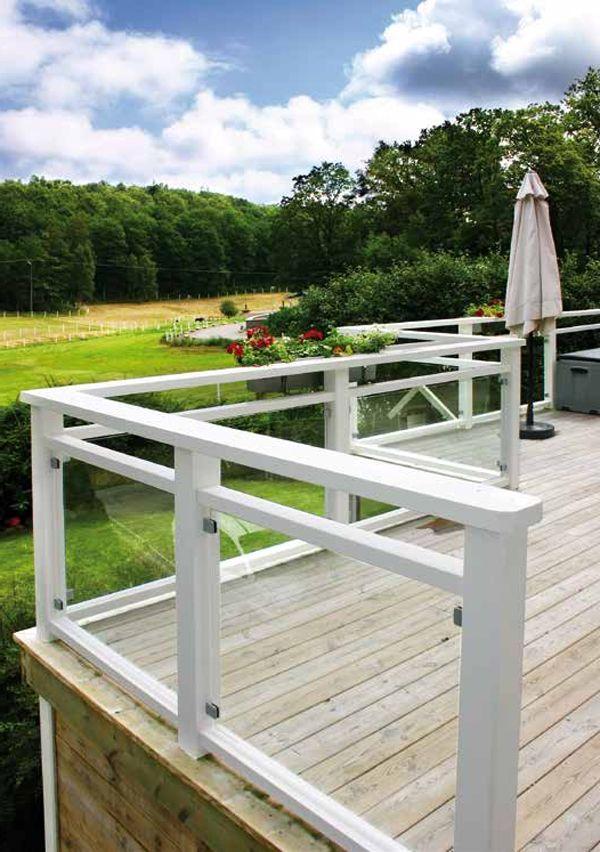 Bildresultat för staket altan