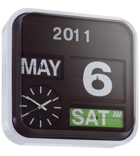 Flap reloj de pared grande (www.habitat.fr)