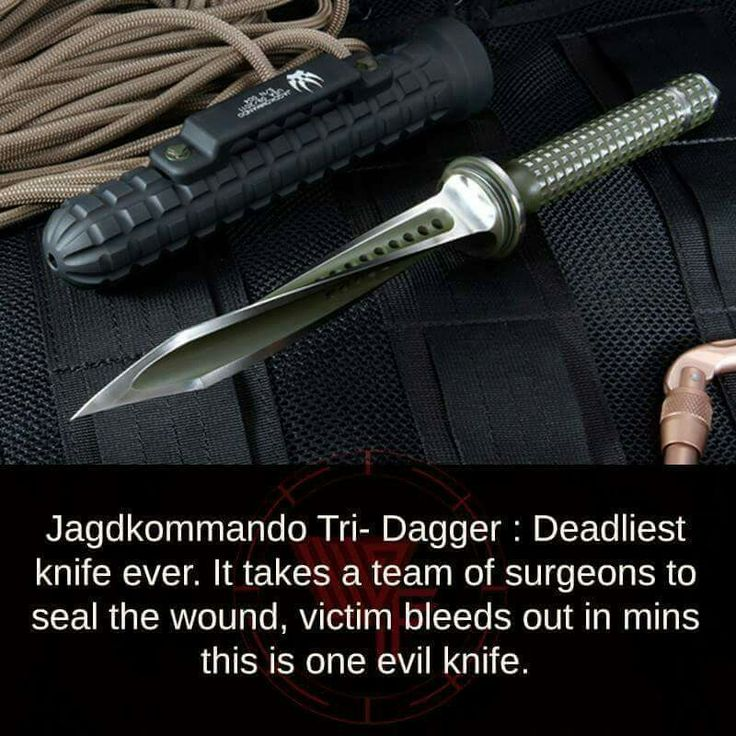 Jagdkommando - deadliest knife ever.